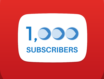 Add 1000 genuine YouTube subscribers to your channel
