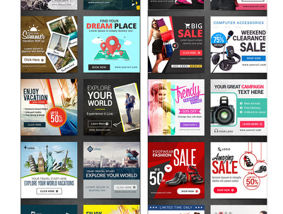 Design IRRESISTIBLE banner ads