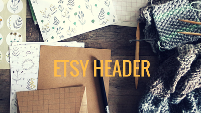 Design your ETSY header