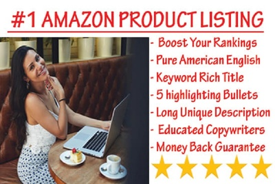 Amazon product listing description that SELLS