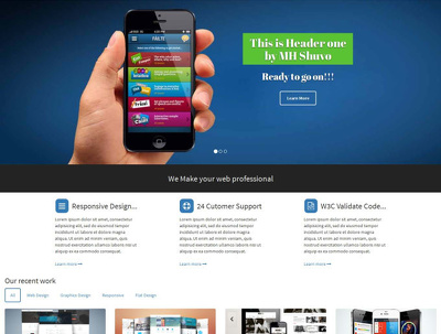 Design an awesome webpage