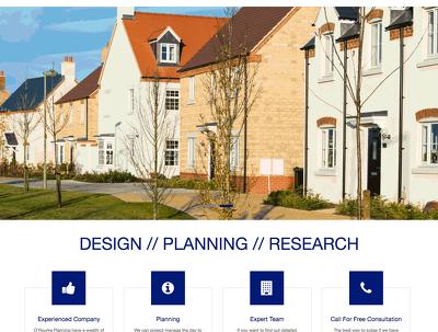 Create a simple brochure site