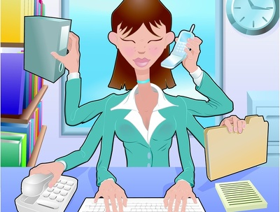 Be your Virtual Assistant for an hour, offering email, social media, telephone suppor