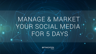 Reach Business Maximum, Manage & Market your Social Media accounts for 5 days