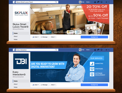 Design facebook cover photo for you and your business