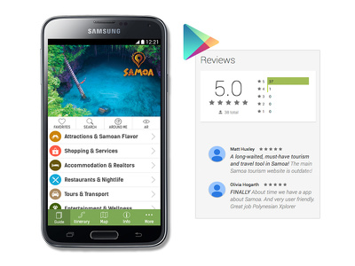 We Give 20 reviews and 5 star rating to your android application
