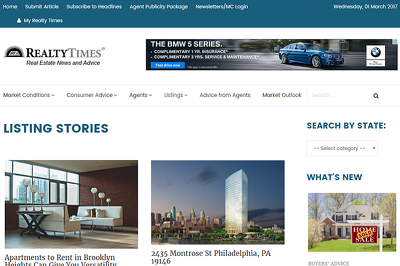 Guest Post on RealtyTimes.com