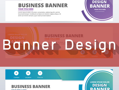 Advertising Banner Design