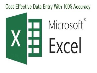 Accurately input data into MS Word or MS Excel Spreadsheets
