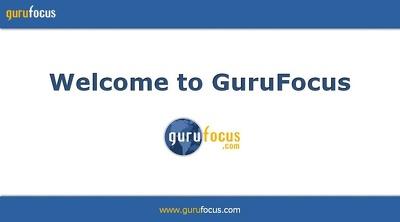 Guest Post on GuruFocus.com