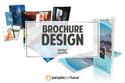 Design a luxury professional brochure within 24 hours