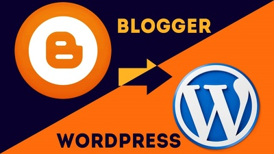 Migrate your website from Blogger to WordPress