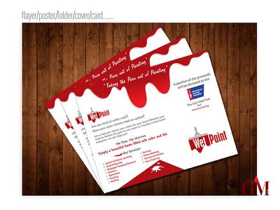 Design Flyer/Poster/Folder/Cover/Business card