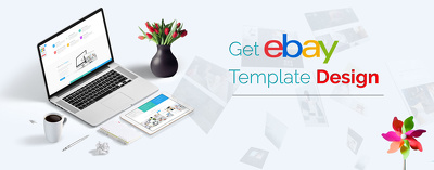 Design your ebay store  with items listing page for your ebay business