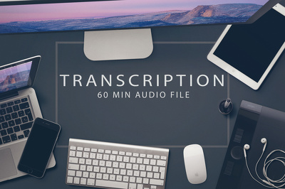 Transcribe 60 min of audio in Eng or Fr