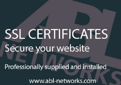 Supply and install a 1 Year SSL Certificate for your website