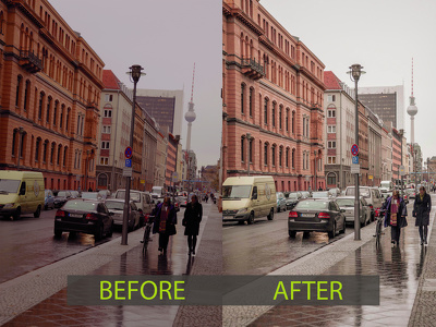 Brilliant editing and retouching of 5 your photos. I can Background remove
