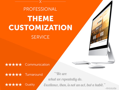 Build / Customization WordPress Theme Professionally using WP Standards