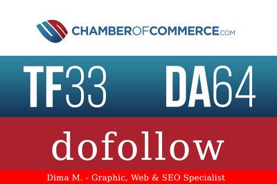 Guest post on Chamber of Commerce - ChamberOfCommerce.com DA64, PA70