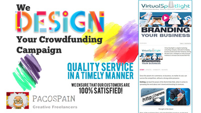 Design you a stunning fundraiser/crowdfunding page