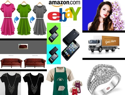 Remove background,Edit & Retouch 10 AMAZON,eBay product images within 24 hours only