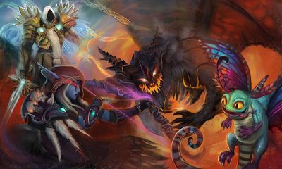 Illustrate fantasy art (book covers, game design)