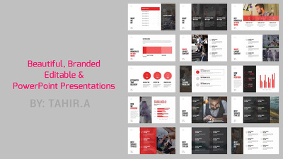 Design a custom PowerPoint Presentation as per your branding and business needs