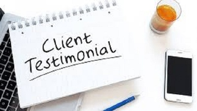 Provide stunning written testimonials for your business, website, or product