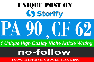 """Write and Publish on """" storify """" Guest Post With High PA-90"""