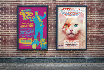 Design and print your event poster