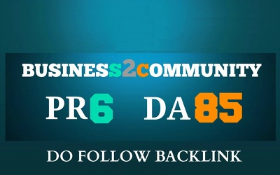 Pubish a Guest Post on business2community, DA80 PA83 [Original Author- NOT RE-SELLER]
