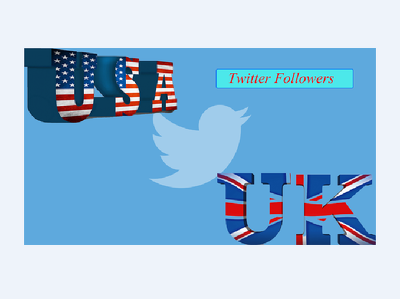 Add 1000 USA/UK Twitter followers to improve your marketing, PR, SEO and Social media