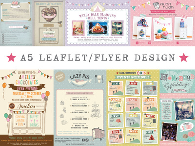 ★ Design A5 flyer/leaflet ★
