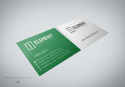 Design an amazing 2 side Business card for your company