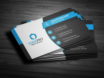 Create a beautiful business card for you in just 12 hours