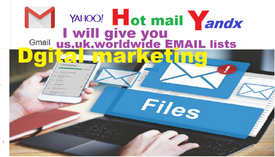 Create email list for your any nicsh,keyword, country name only
