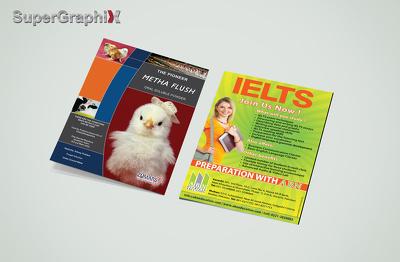 Design Flyer, Leaflet and Brochure