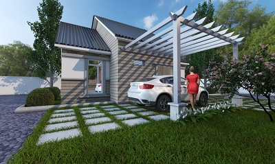 Provide one photorealistic VRay render