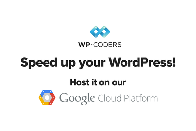 Host your WordPress website on Faster Google Servers for 1 month