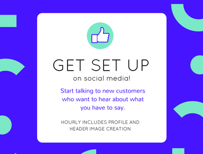 Social Media Account Set-Up - + Design of Profile and Header Images