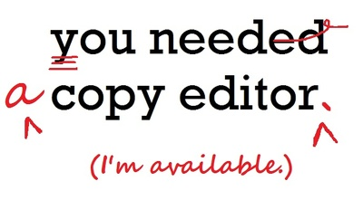 Edit articles up to 1500 words for content, clarity, grammar and spelling.