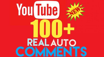 Post 100+ YouTube Video Auto Comments Positive