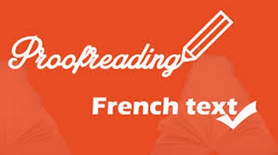 Proofread French /English Text (Up to 1000 words)