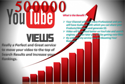 Give 3000 Non Drop High Quality Adsense Safe Views for Your YouTube Video