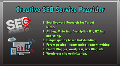 Creative Search Engine Optimization (SEO) Service Provider