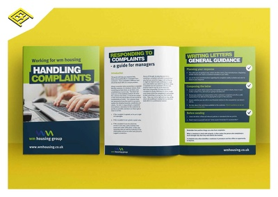 Design a professional print ready brochure