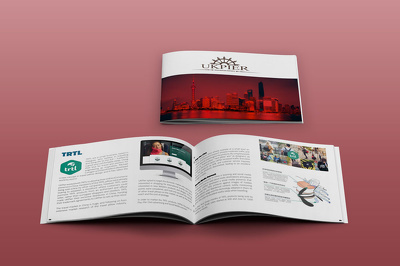 Design your Brochure (up to 8 pages) for print and web