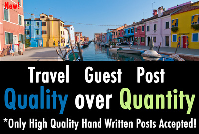 Post guest post on travel blog