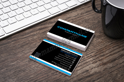Design an attractive Business Card .