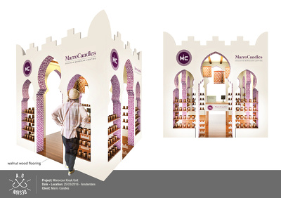 Provide custom kiosk design to display your products / services